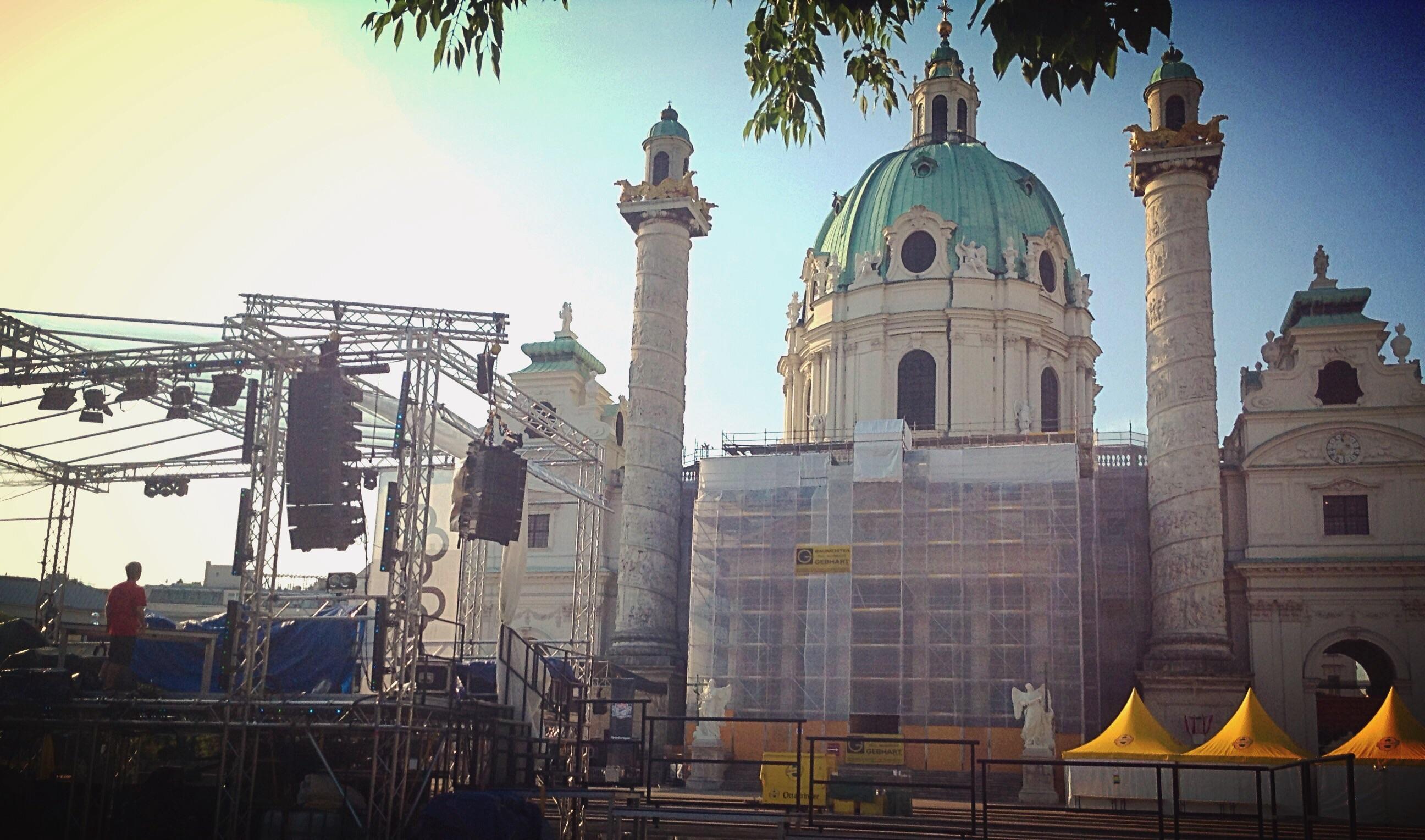 Karlsplatz am Popfestival