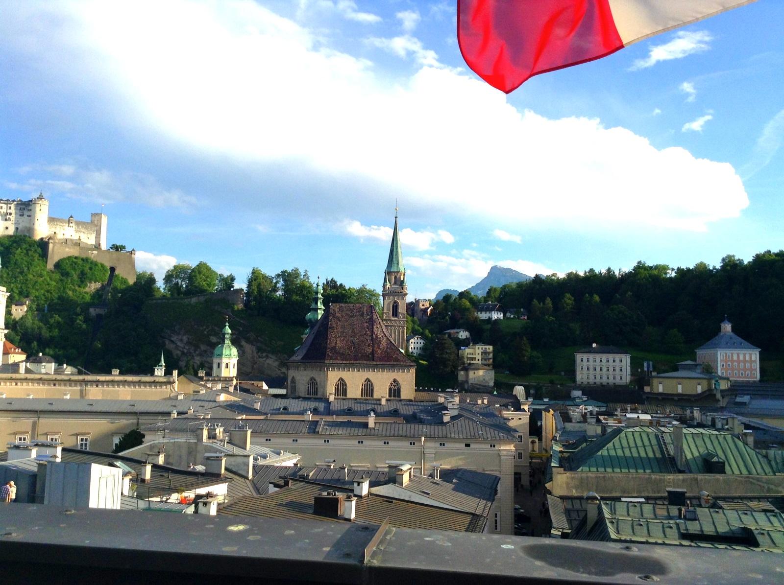 Aussicht vom Rathausturm