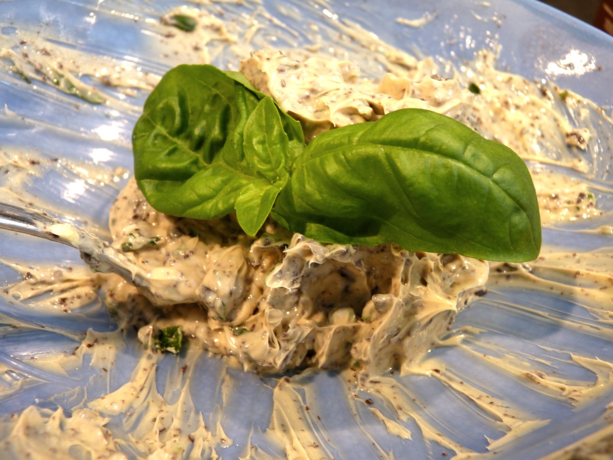 FoodBlog Days Schoko-Basilikum-Limetten-Butter