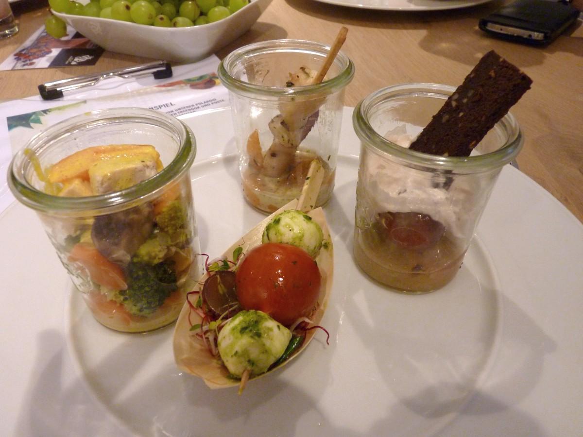 Essen FoodBlogDays Abendveranstaltung