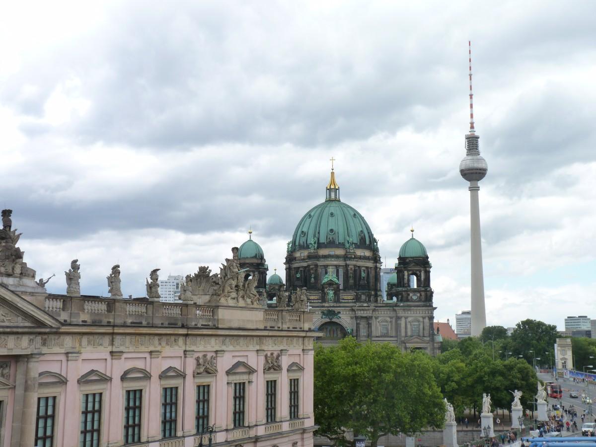 Aussicht vom Kronprinzenpalais