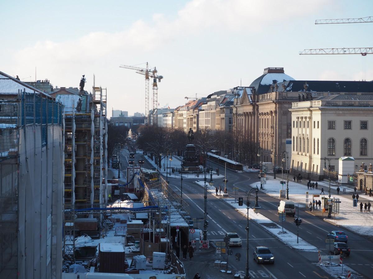 Winter in Berlin Friedrichstraße