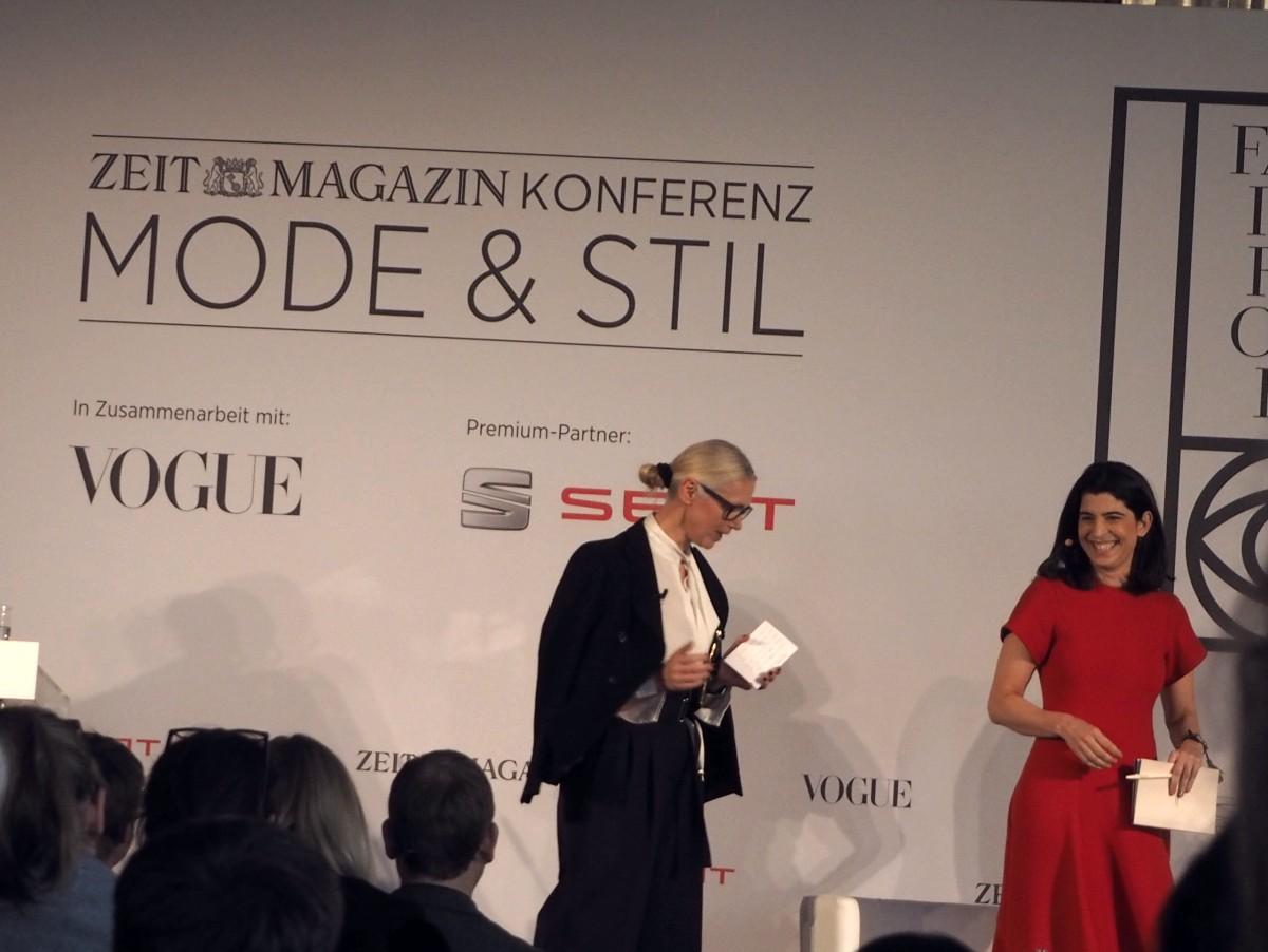 ZEITmagazin Konferenz Christiane Arp und Dorothee Schumacher