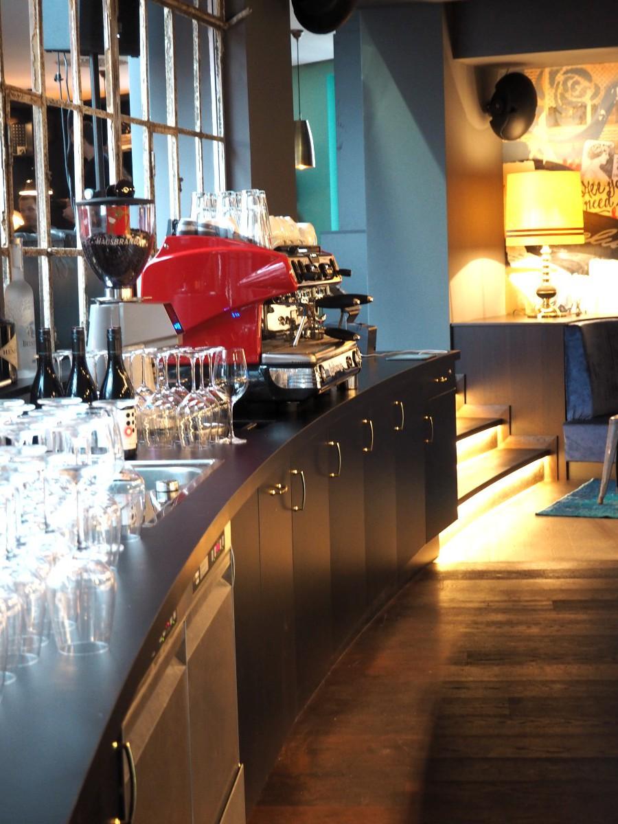 Kaffeebar im Ruby Marie