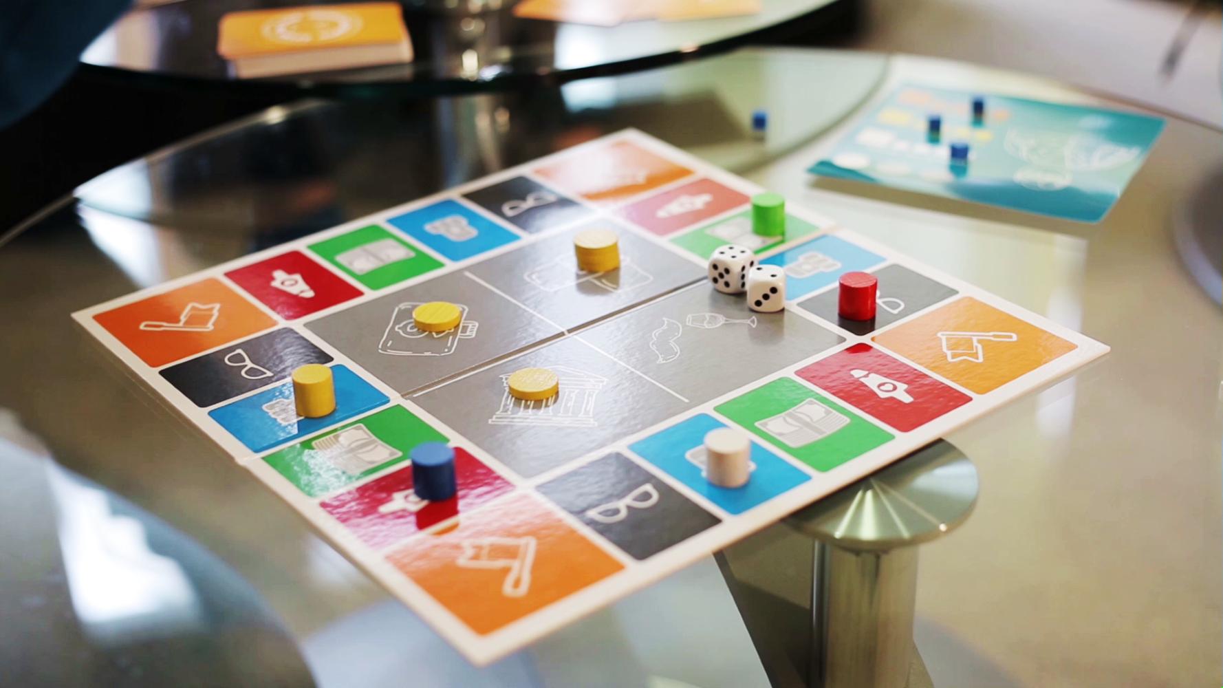 spielbrett Das Gesellschafts-Spiel bedingungsloses Grundeinkommen