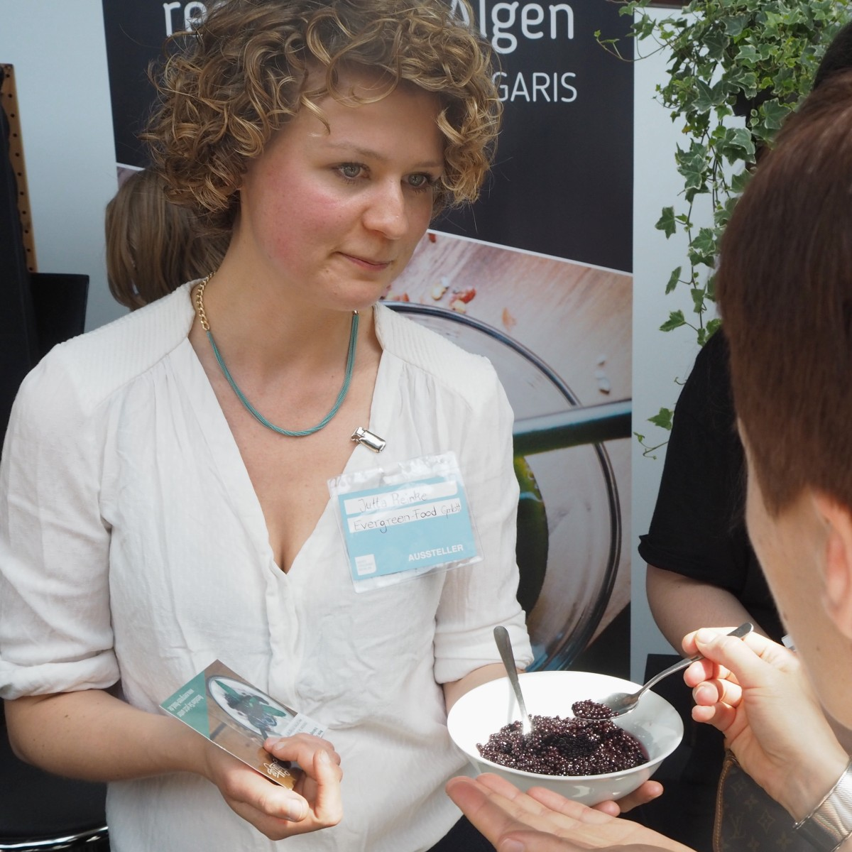 next organic messe berlin alge lüttge evergreen food