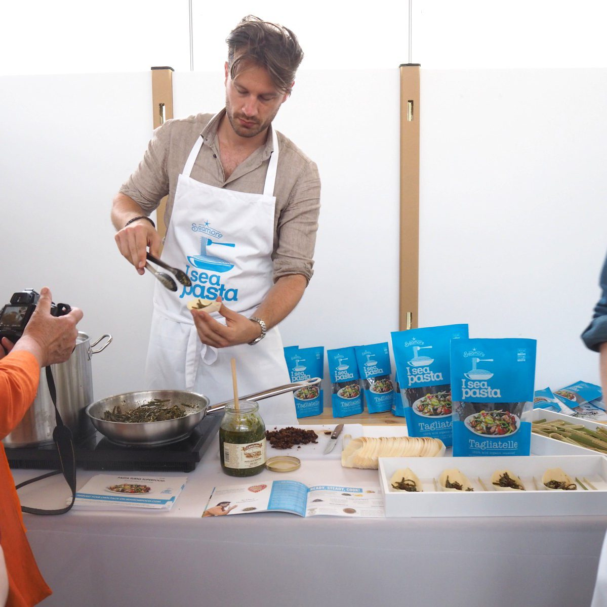 next organic messe berlin alge algenpasta pasta i sea pasta