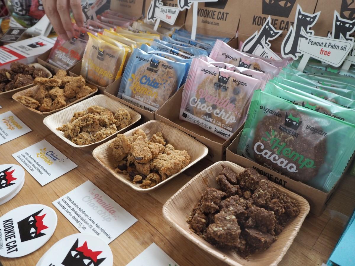 Next Organic Berlin Station Glutenfrei Cookie Kookie Cat Roobar Keks vegan organic