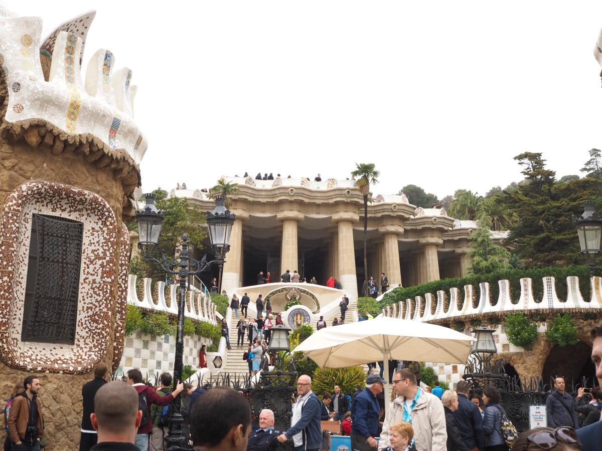 Parc Güell in Barcelona.
