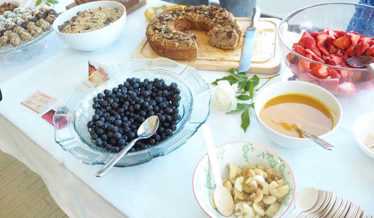 Frühstück bei den Food Blog Days in Berlin 2016 mit Seedheart.