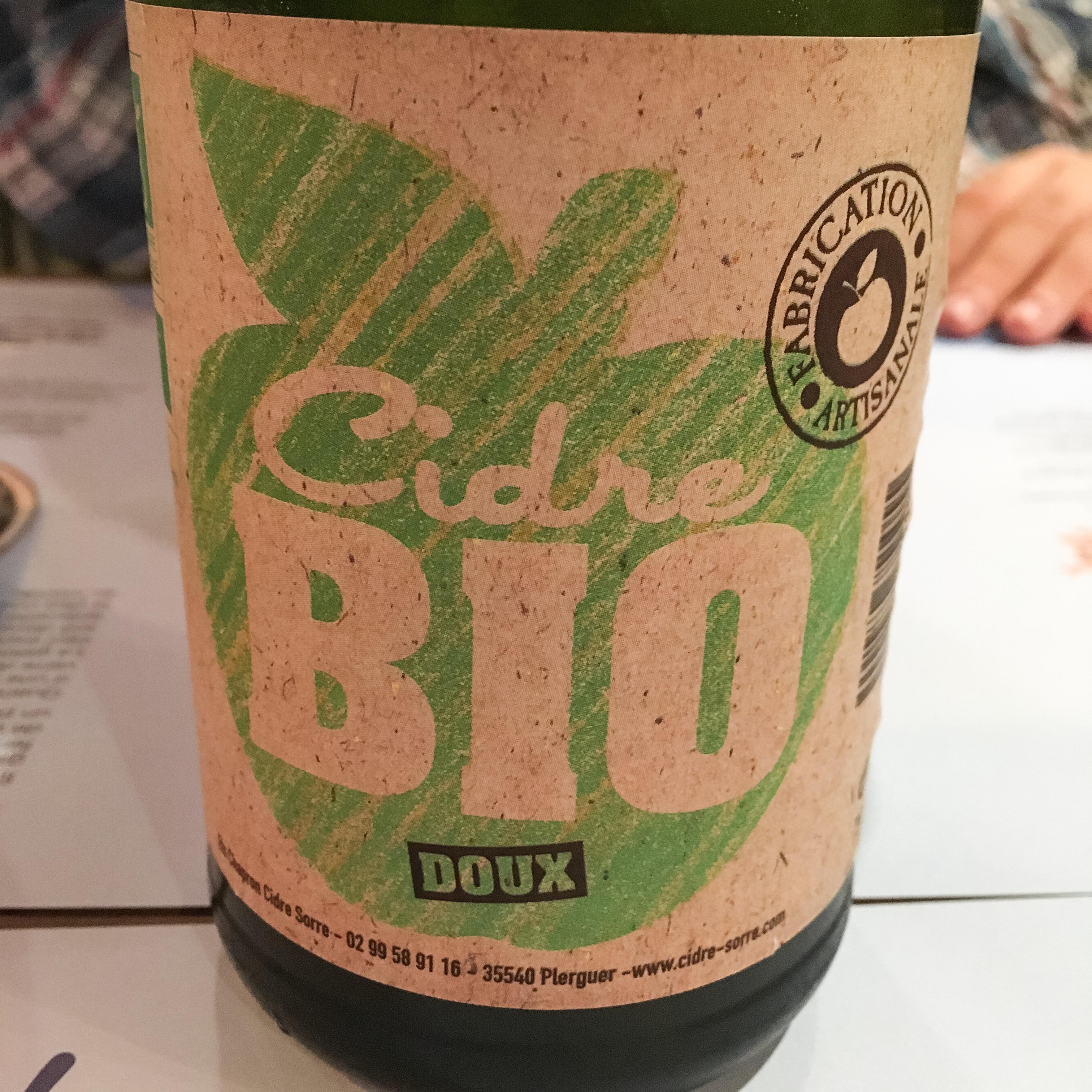 Bio Cidre im Les Matelots in Luxemburg.