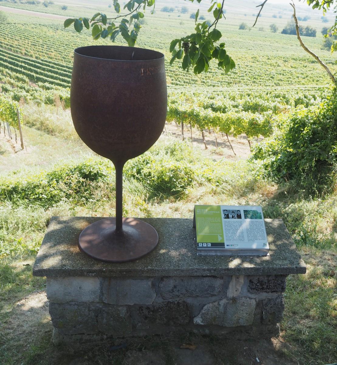 Weinlehrpfad im Weingut Hillinger in Jois