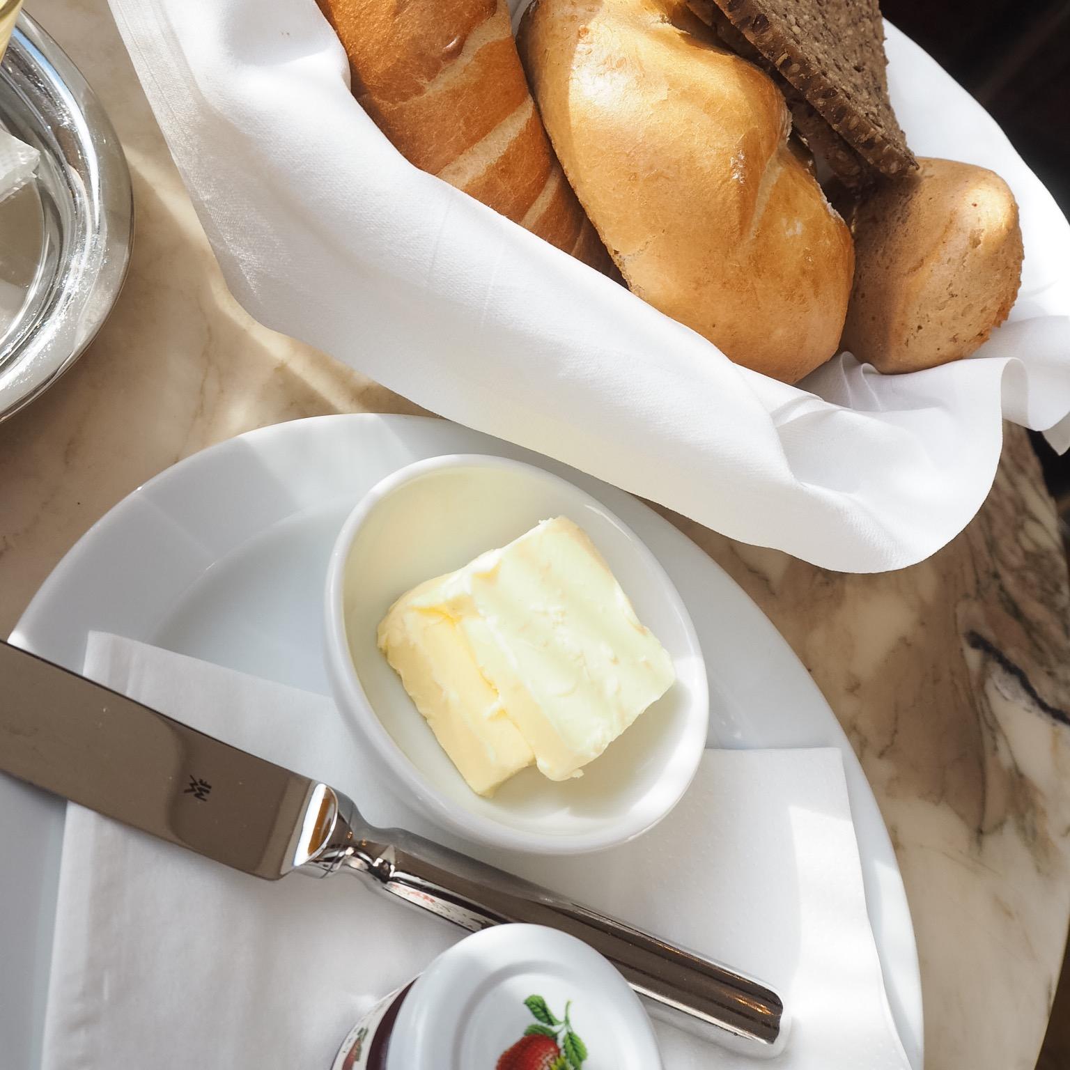 Wiener Frühstück im falstaff Cafe Guide Sieger der Steiermark - das Weitzer Kaffee in Graz.
