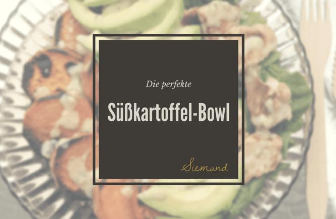 Ein einfaches und schnelles Rezept für die perfekte Süßkartoffel-Bowl. | Erfahre mehr auf msiemund.de