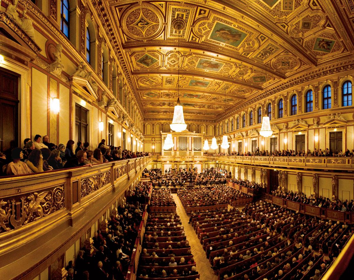Musikverein Goldener Saal Foto: Werner Kmetitsch